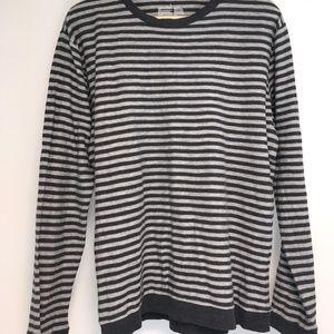 🍂 Slub Jersey Stitch Striped Long Sleeve (L) 🍂